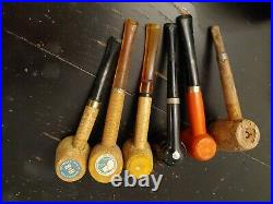 Vintage Pipe Collection Dunhill London New York Pipe Tobacco Humidor Pipe Stand