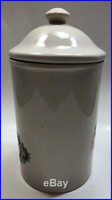 Vintage Tobacco Humidor Jar Hoo Wa Ne Ka Winnebago Chief Gold Label GL-73