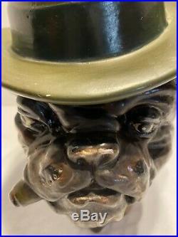 Vintage Xonex Bulldog Cigar Humidor Tobacco Jar Limited Edition