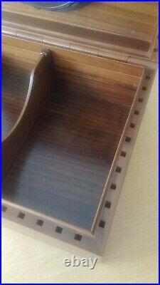 Vintage humidor 100% precious wood, amazing workmanship and quality