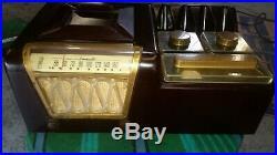 Vtg 1948 SMOKERETTE SR-600 Cigar / Pipe / Humidor Radio by Porto Server Products