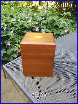 Walnut Humidor For Cigar Storage