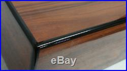 Wooden Cigar Humidor, Savoy Digital Hygrometer, Storage Shelf& Dividers, Rosewood