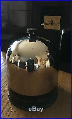 Wunderschöner kleiner Art Deco Humidor, Zigaretten Zigarillo Dose, Patent 1935