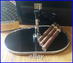 Wunderschönes Tablett mit Zigarrenabschneider, 1950er Jahre, Cigar Cutter