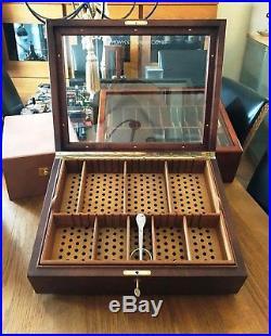 XL ZINO (Davidoff) Präsentation Humidor, inkl. Davidoff Zigarrenschere, High End